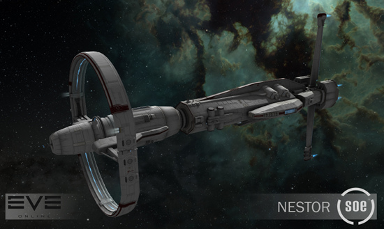 Nestor - Sisters of EVE battleship