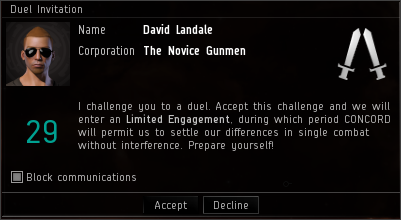 Duel Invitation