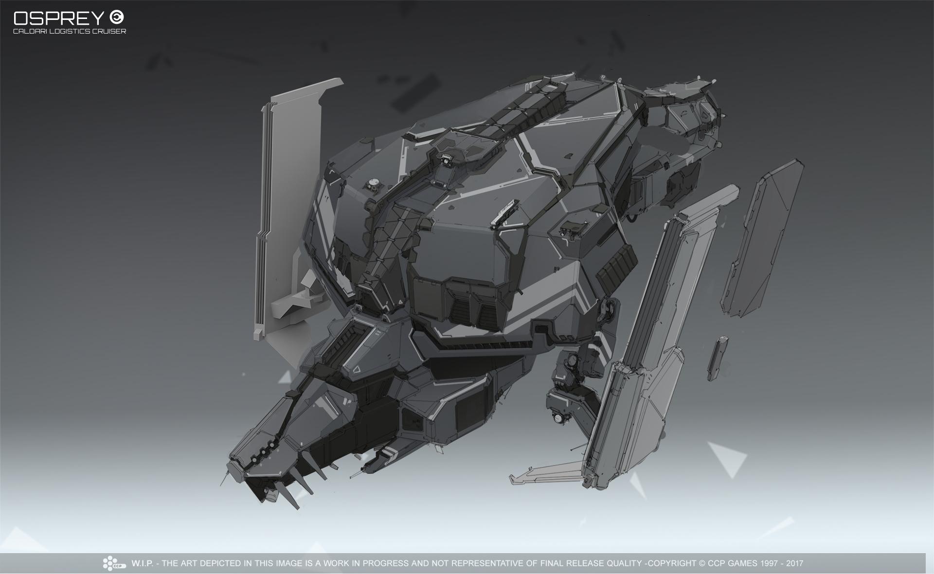 Osprey Re Design Concept Art From The Latest Development Stream Eve